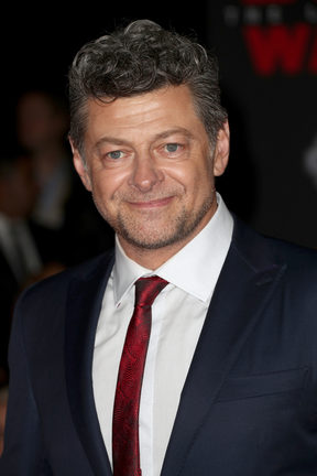 Andy Serkis at the premiere of  Star Wars: The Last Jedi in December 2017 in LA.