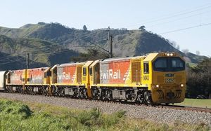 KiwiRail is testing 40 of its newest freight locomotives.