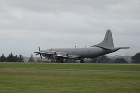 A Royal New Zealand Air Force P-3K2 Orion aircraft deployed from Auckland this morning to search for the missing vessel.