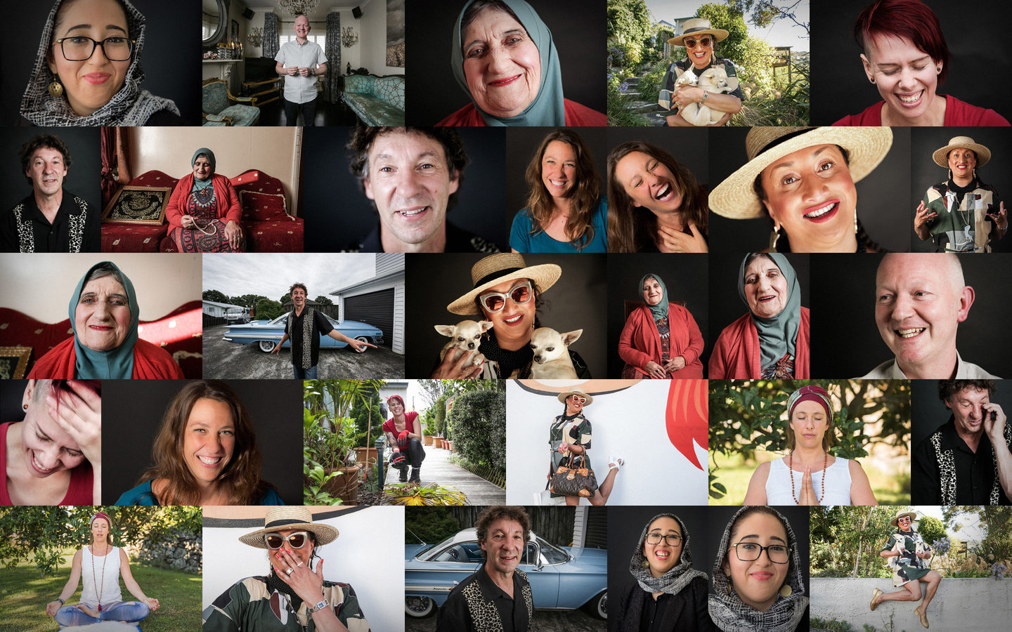 The many faces of the RNZ Joy Project, a look at happiness.