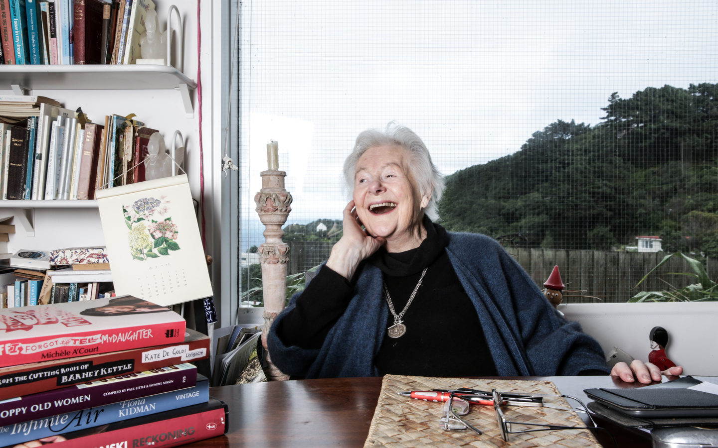 Dame Kate Harcourt turned 90.