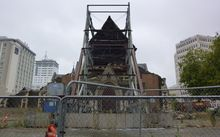 The front of ChristChurch Cathedral.