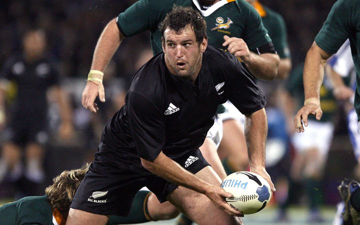 Carl Hayman played 45 tests for the All Blacks.