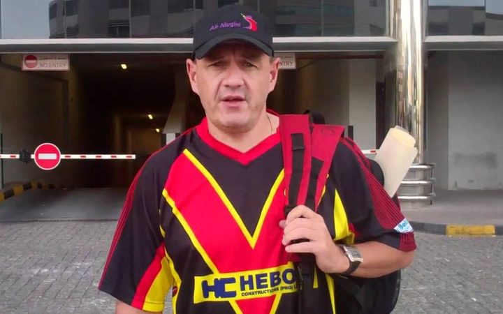 PNG Cricket CEO Greg Campbell
