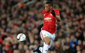 Manchester United's Anthony Martial.