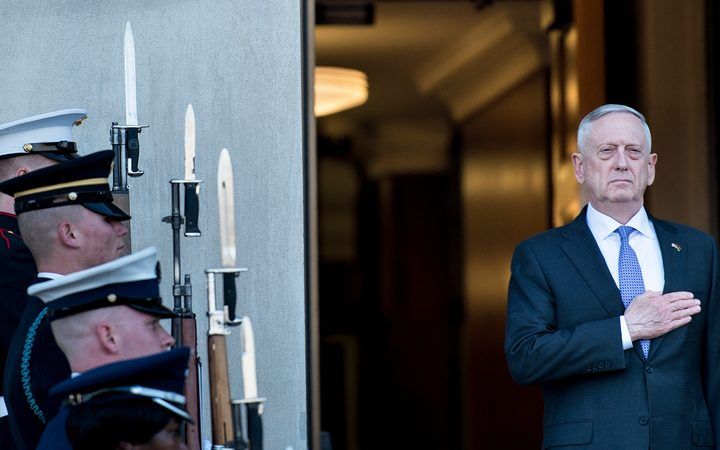 US Defence Secretary James Mattis.