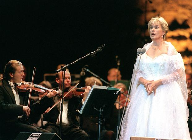 Dame Kiri Te Kanawa - no intention of retiring.