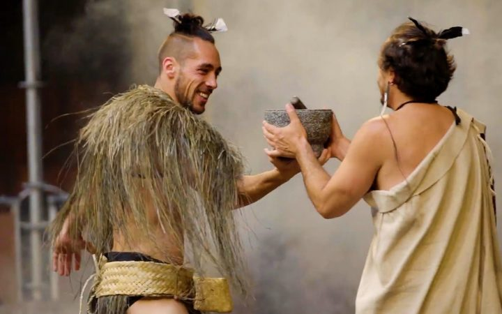 Te reo Māori-speaking fairies cause mischief in Shakespeare's 'A Midsummer Night's Dream' at the Pop Up Globe in Auckland.