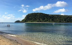 An island in the Yasawa Group, one of Fiji's tourist playgrounds