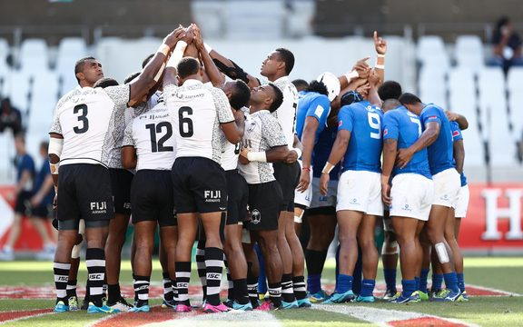 Fiji and Samoa will square off in their opening pool match at the Sydney Sevens.
