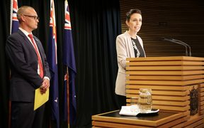Prime Minister Jacinda Ardern and Health Minister David Clark announce a ministerial inquiry into mental health and addiction.
