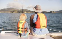 Life jackets must be worn by everyone on board a vessel up to 6m long.