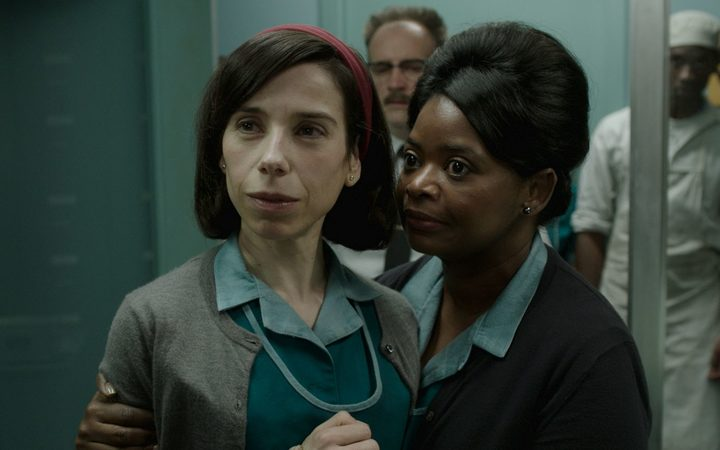 Sally Hawkins, left, and Octavia Spencer star in the film 'The Shape of Water'.