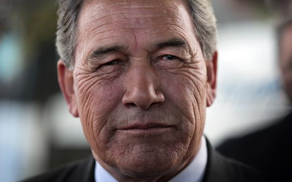 24/01/13. Photo Diego Opatowski / RNZ. New Zealand First leader Winston Peters at Ratana celebrations.