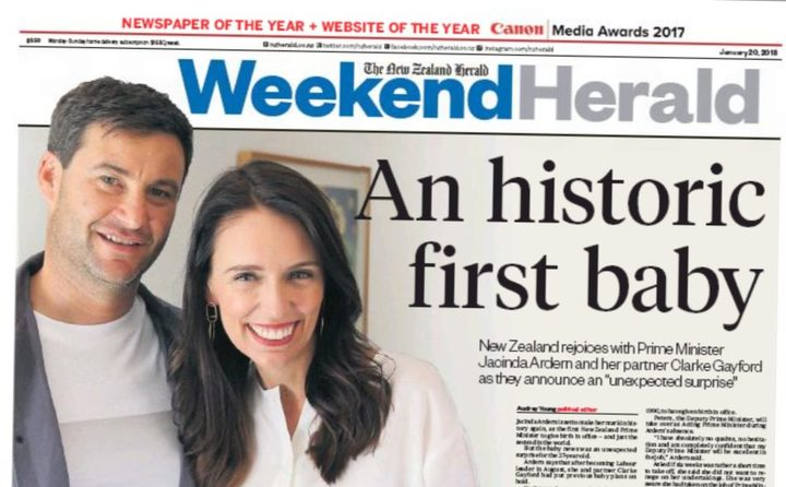 Image result for jacinda ardern cover of  magazine