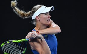 Caroline Wozniacki has ended her long wait for a maiden grand slam.