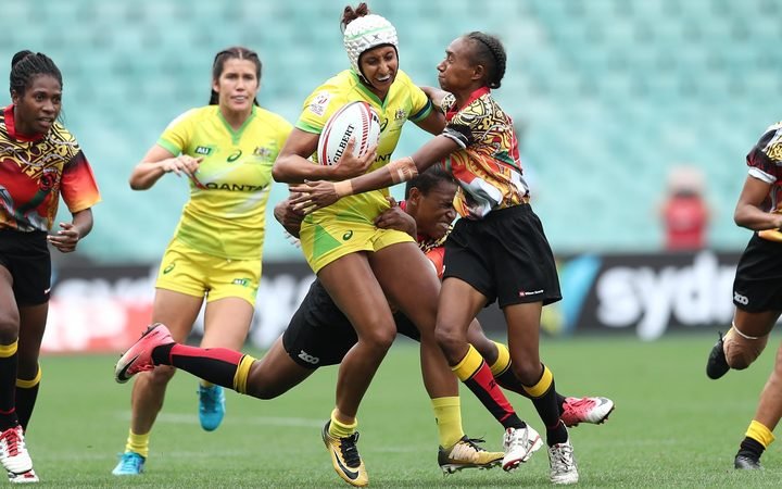 The PNG Palais failed to win a game at the Sydney 7s, won by hosts Australia.