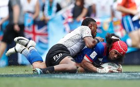 Fiji were beaten by USA in the Cup quarter finals.