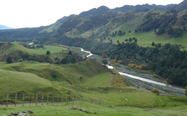 The proposed Ruataniwha dam site.