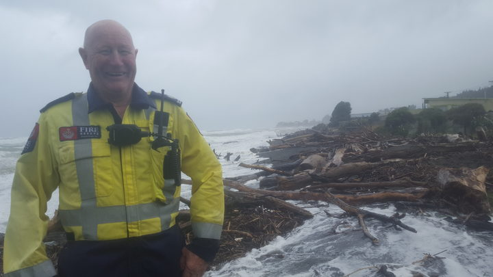 Waitara fire chief Dennis Crow