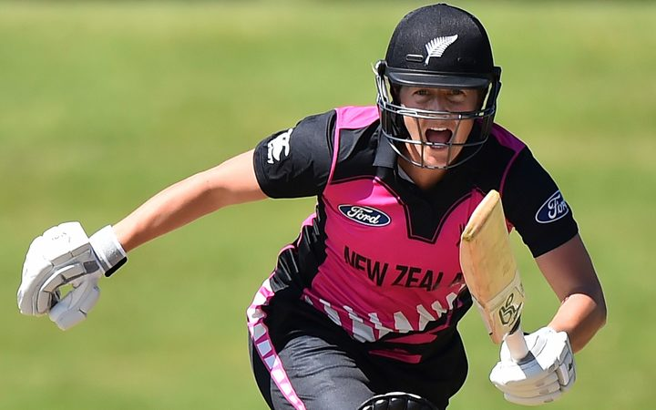 Sophie Devine is one of New Zealand players in the WBBL.
