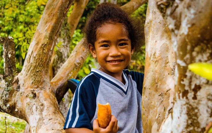 """Happy Pepe"", a photo in Fe'ena Syme-Buchanan's ""Secluded Splendour"" exhibition in Rarotonga"