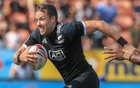 Tim Mikkelson scored his 200th international try for the All Black Sevens.