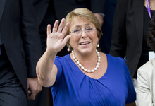 Michelle Bachelet: four more years.