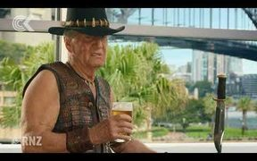 Crocodile Dundee Superbowl ad could benefit NZ