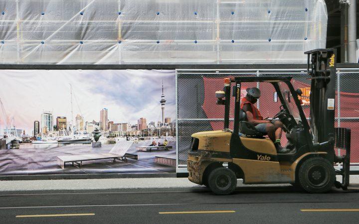 The Park Hyatt hotel under construction in Auckland. Photo / Tom Furley