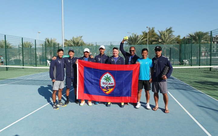 Sport: Guam already planning for next Davis Cup stint