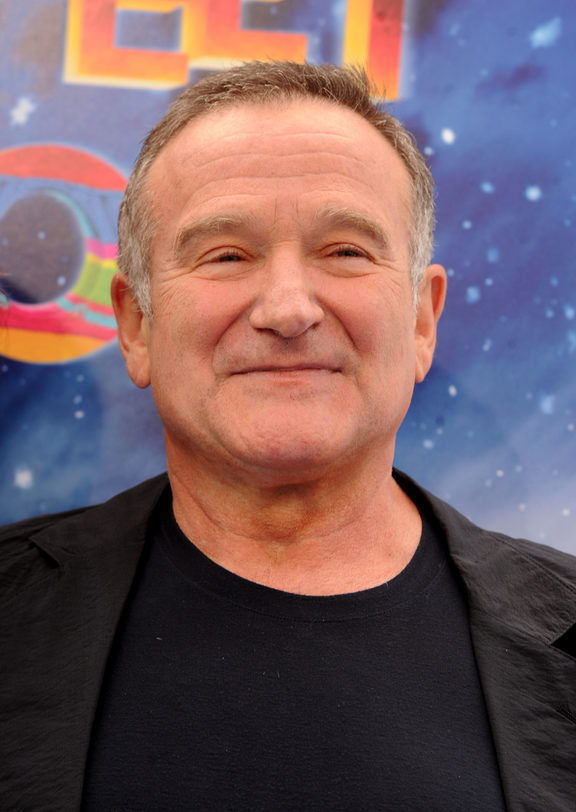 Robin Williams, pictured in 2009, died in 2014.