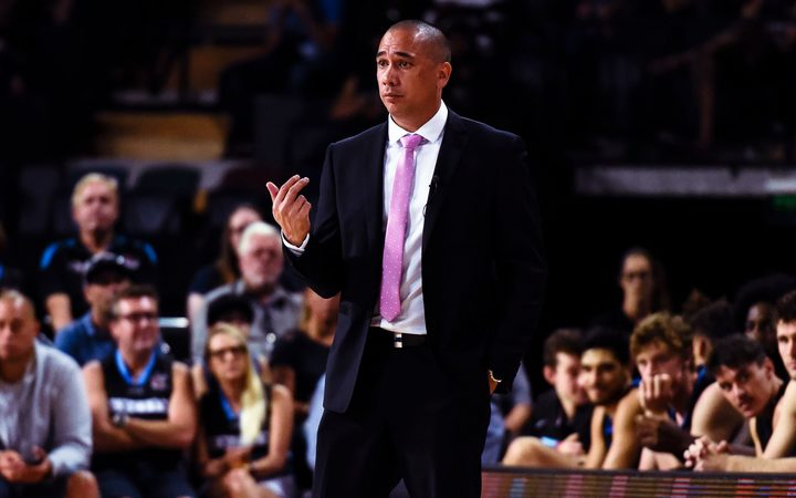 Breakers coach Paul Henare.