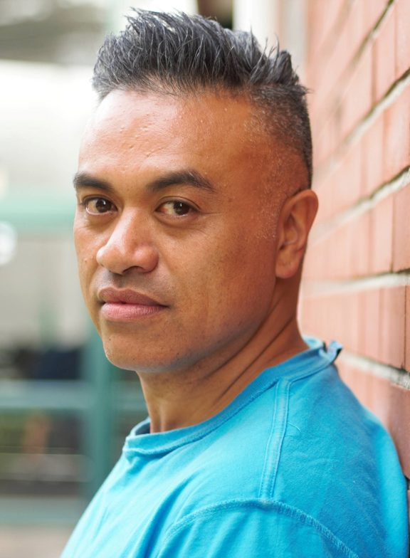 Borni te Rongopai Tukiwaho, who is directing the Hobson Street Theatre Group's play The Race.