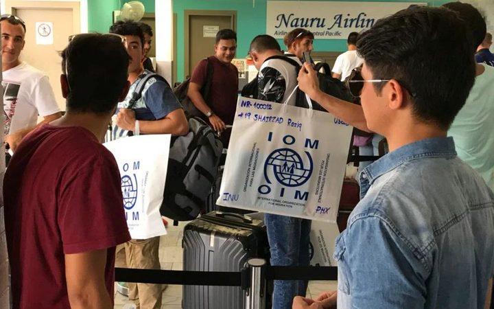 More refugees leave Nauru for US