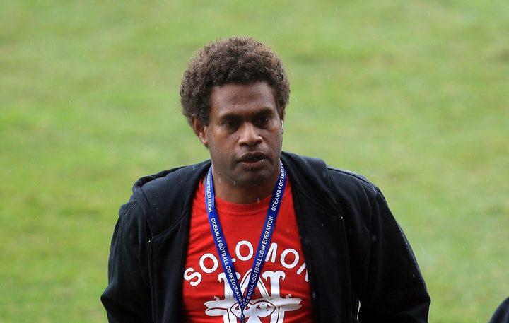 Solomon Warriors coach Moses Toata.