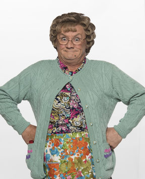 Mrs Brown played by Brendan O'Carroll in Mrs Brown's Boys.