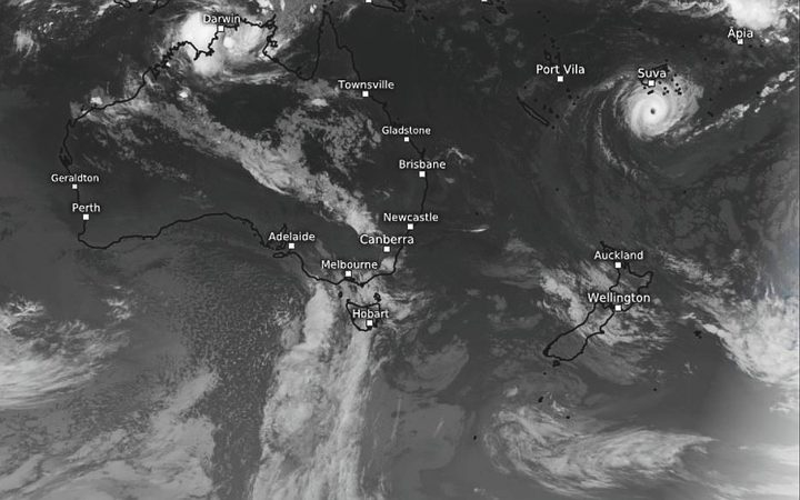 Cyclone Gita passed south of Fiji's main islands about midnight. NIWA warns it could loop south to New Zealand