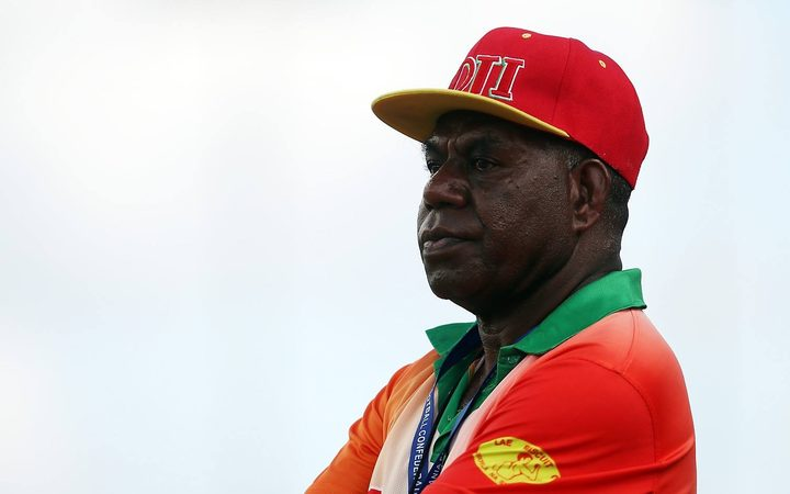 Lae City coach Peter Gunemba.