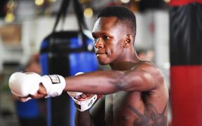 New Zealand UFC middleweight fighter Israel Adesanya