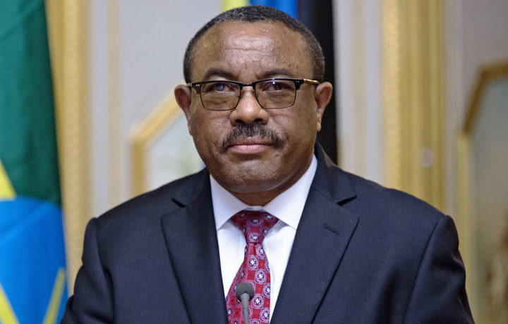 Ethiopia's Desalegn Resigns as Prime Minister