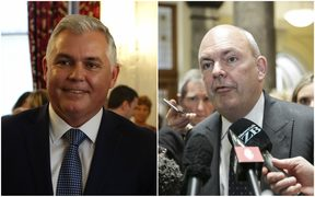 Mark Mitchell and Steven Joyce