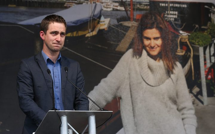 Widower of murdered Labour MP Jo Cox Brendan Cox speaks at an event to celebrate Jo Cox's life in Trafalgar Square central London