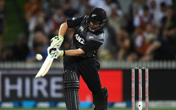 New Zealand batsman Colin Munro.
