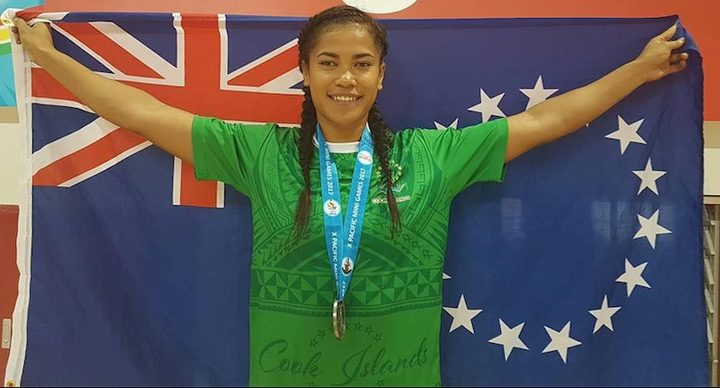 Cook Islands sprinter Patricia Taea.