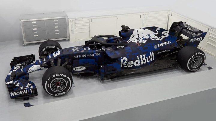 2018 Red Bull F1 car