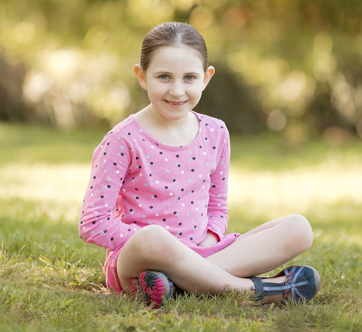 Seven-year-old Gabrielle from Nelson has an extremely rare progressive bone marrow disorder called dyskeratosis congenita.