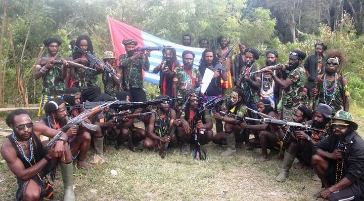 West Papua Liberation Army at the issuance of a declaration of war against Indonesian security forces.