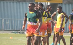 PNG Hunters stand-off Ase Boas.