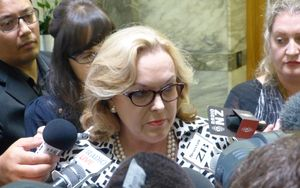 Judith Collins at Parliament.